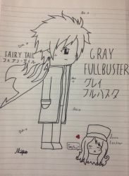Gray Fullbuster by JRIlovesmanythings