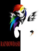Rainbow Scarface by PlatinumPegasister