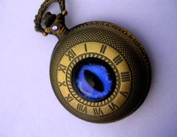 On Dragon's Time - Violet Night Timepiece by LadyPirotessa