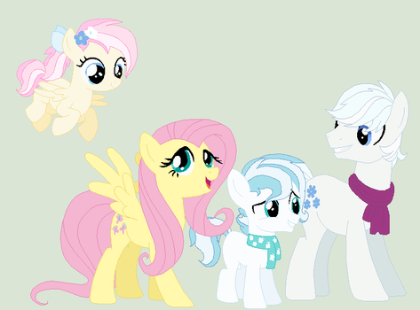 My Headcanon Future: Fluttershy x Double Diamond by Itatipara
