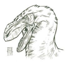 Dino Sketch_Dudesaurus by Smnt2000