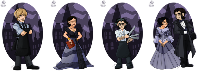 DST: OC Victorian Skins by Aileen-Rose