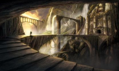 The Dwarves' Aqueduct - Final by GiuseppeParisi