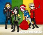 Merry Xmas Killjoys by Eilyn-Chan