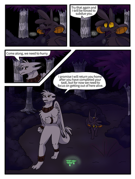 Realm Quest Chapter 2 Page 9 by EeveesAndDragons