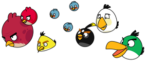The Angry Birds by Gav-Imp