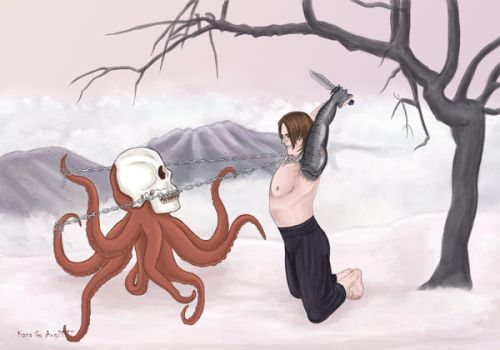 The Winter Soldier vs Hydra by KanaGo