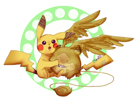 Timcanpy And Picachu by PinaBerry