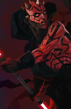 Darth Maul by MattDeMino