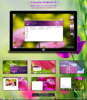 :: Purple Dream 8 :: Final for Win 8/8.1 by sagorpirbd