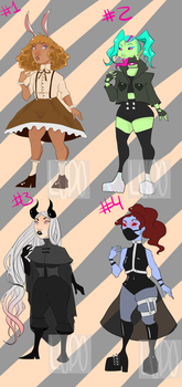 $5 Adopts! (4/4 OPEN) by ryuuwho