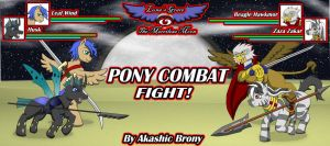 Pony Combat by Sword-of-Akasha