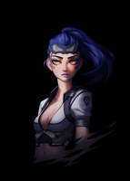 Talon Widowmaker by Saige199