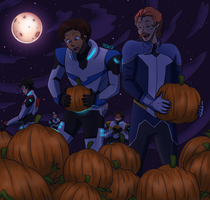 [VLD] A Patch of Space Pumpkins (Voltronween) by Jeroine