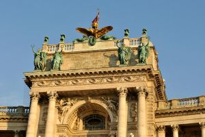 Hofburg Palace detail - Vienna by wildplaces