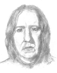 Snape DONE by trad-HP-rocks