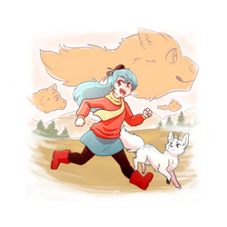 Hilda Fanart by RiverSpirit456