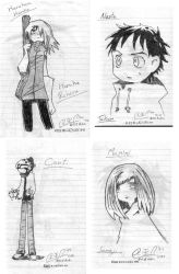 flcl characters by flcl