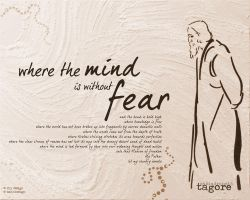 Where the mind is without fear by ritwik-mango