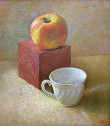 Apple and Cup. 2005 by Yudaev