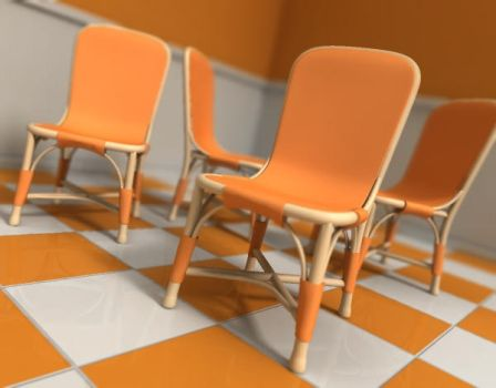 chairs by DEZIN