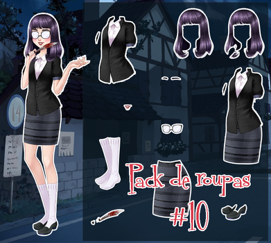 Pack de roupa #10 by Unnieverso