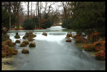 Eisbach River by Xerces
