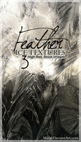 Feather Ice Textures by misi