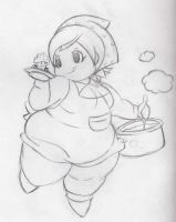 Cooking Mama Fat by Eishiban