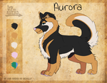 Aurora- ref- Up and Ahead fan character by Melinehno