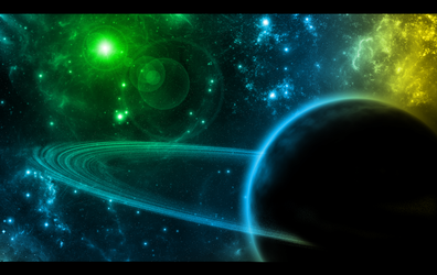 Space Wallpaper by alliaxandromeda