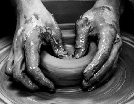 hands in clay by orpheus01