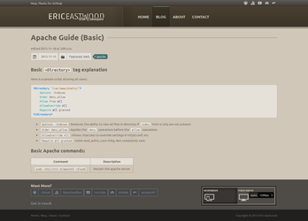 EricEastwood.com - Article View by MadLittleMods