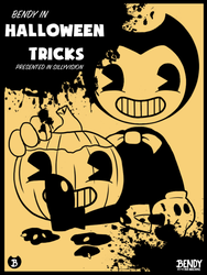 Bendy in - Halloween Tricks Poster by Fuyuko-Yuki