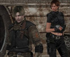 leon and ada version 2 by cyber-rayne