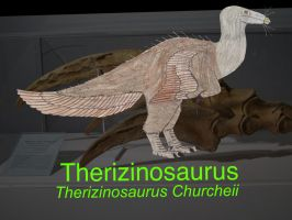 DINOWORLD: THERIZINOSAURUS by HUBLERDON