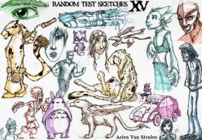 random test sketches XV by therealarien