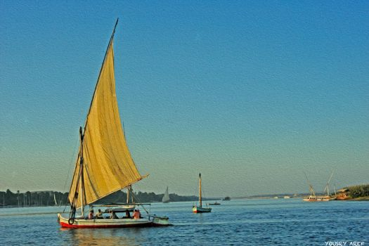 Aswan Time by Yousry-Aref