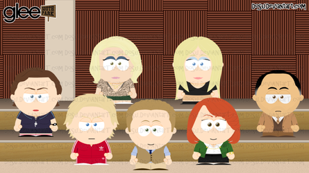 Glee Goin to South Park 2 by Dosu
