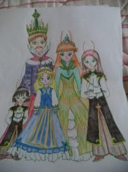 Royal Family by rosebowie
