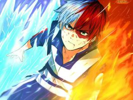 Todoroki Shouto by hievasp
