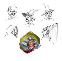 Witches Sketchlist by saurivaa