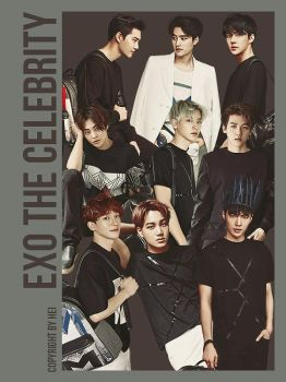 EXO The Celebrity png 9P by hyukhee05