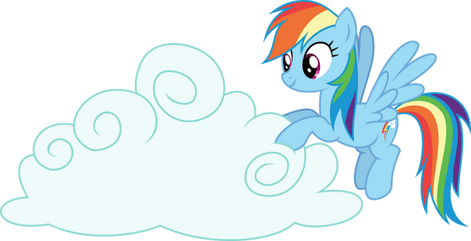 Vector #17 - Rainbow Dash #3 by PonPonVector