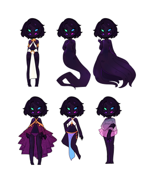 Nebula Outfit Collection [C] by LucciolaCrown