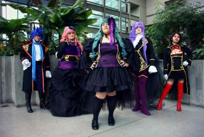 Vocaloid Sandplay Signing of the Dragon by Mlarad
