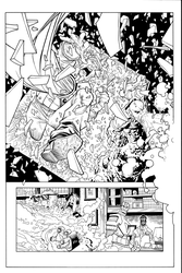 Invincible83 Hi res inks 2 by JosephLSilver