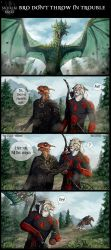 Skyrim bros: Bro don't throw in trouble by Azany