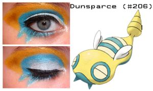 Pokemakeup 206 Dunsparce