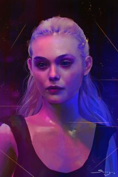 Neon Demon by Ron-faure